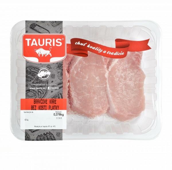 Bravčové karé bez kosti plátky OA Tauris VÝPREDAJ 1