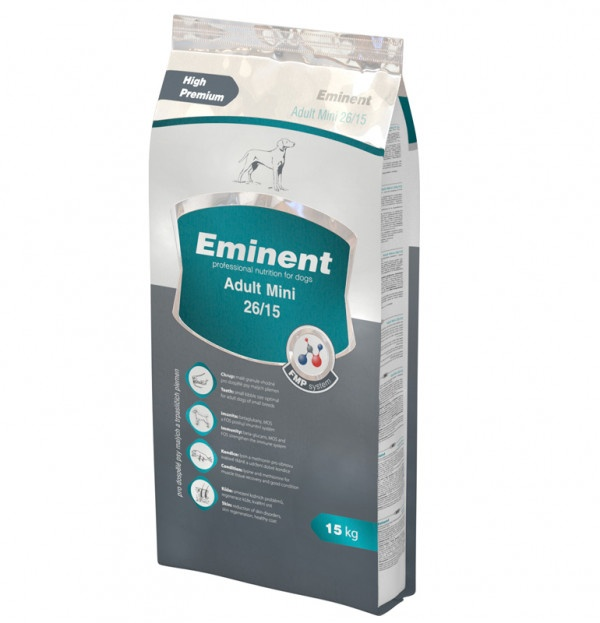 Eminent Adult mini Prémiové krmivo 15kg 1
