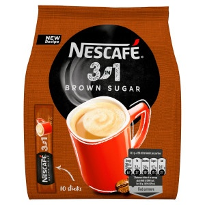 NESCAFÉ 3in1 Brown, instantná káva 10ks x 16,5g 2