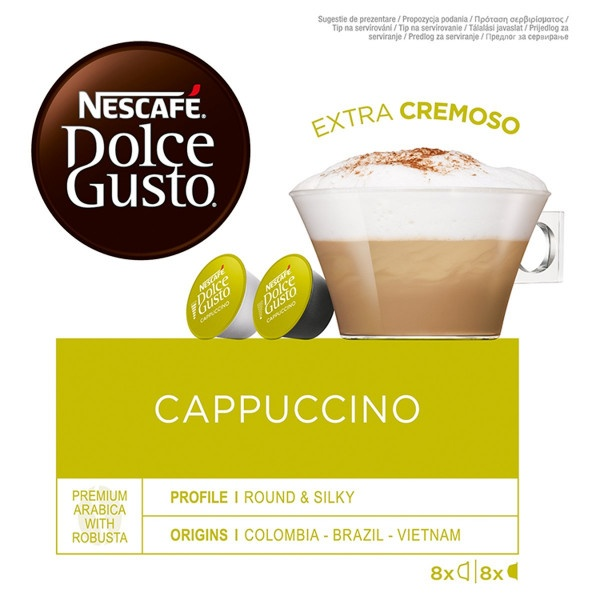 NESCAFÉ® Dolce Gusto® Cappuccino 16 ks 1
