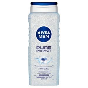 Nivea Men Pure Impact Sprchovací gél 500 ml 11