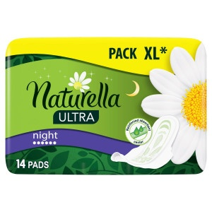 Naturella Ultra Night hyg.vložky 14ks 17