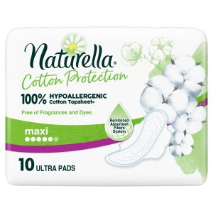 Naturella Cotton Ultra Maxi hyg.vlož 10ks 22