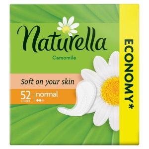 Naturella Normal Camomile Intímky 52ks 15