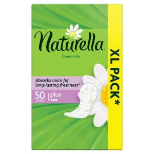 Naturella Plus Camomile Intímky 50ks 19