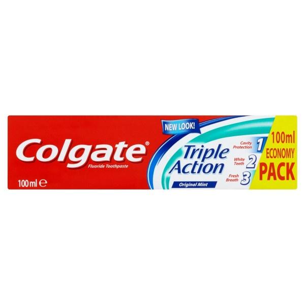 Colgate Triple Action Mint zubná pasta 100 ml 1