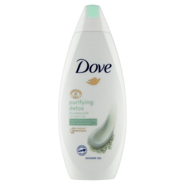 Dove Purifying Detox sprchovací gél 250 ml 1