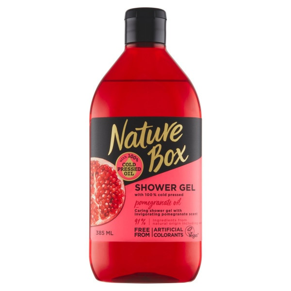 Nature Box Pomegranate Oil Sprchovací gél 385 ml 1
