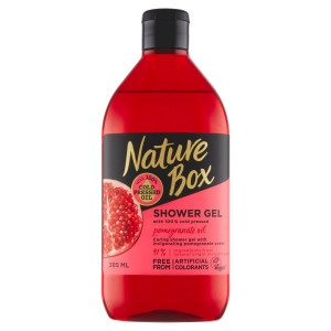 Nature Box Pomegranate Oil Sprchovací gél 385 ml 9