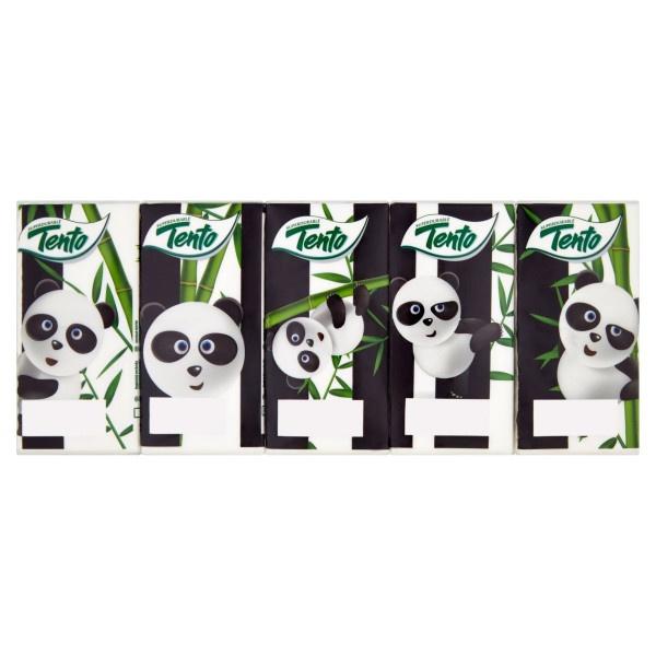 Tento Panda hygienické vreckovky 3vr. 10ks 1