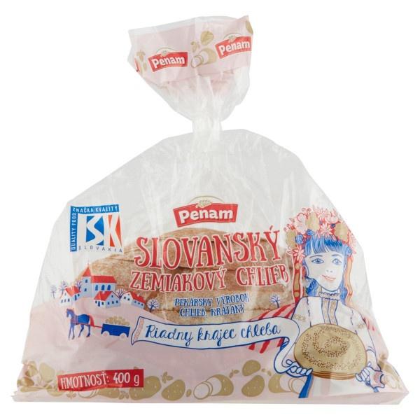 Chlieb Slovanský zemiakový kráj.balený PENAM 400g 1