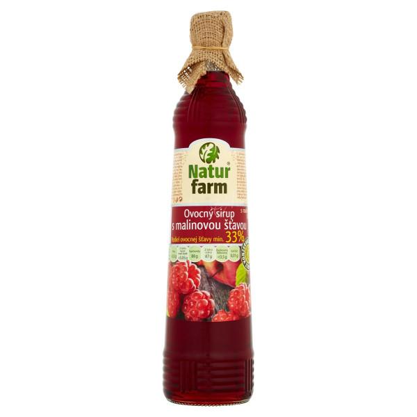 Sirup malinový Natur Farm 0,7L 1