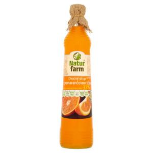 Sirup pomarančový Natur Farm 700 ml 6