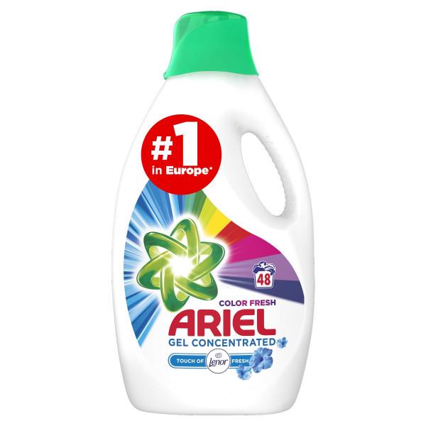 Ariel Touch Of Lenor Color prací gel 48PD 2640 ml 1