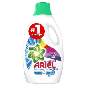 Ariel Touch Of Lenor Color prací gel 48PD 2640 ml 12