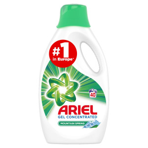 Ariel Mountain Spring prací gel 40PD 2200 ml 2