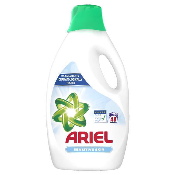 Ariel Sensitive prací gel 48PD 2.64 L 1