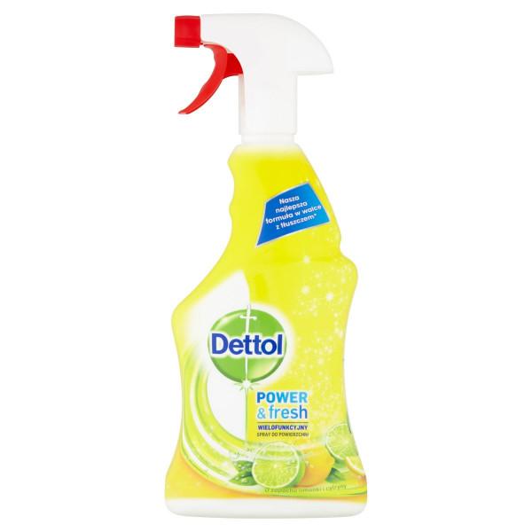 Dettol antibakteriálny sprej citrón&limeta 500ml 1