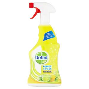 Dettol antibakteriálny sprej citrón&limeta 500ml 5
