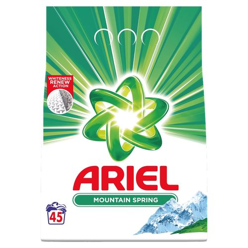 Ariel Mountain Spring prací prášok 45PD 3,375kg 1