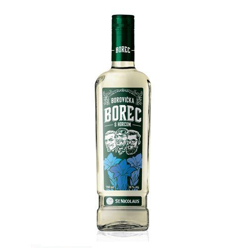 BOREC Borovička s horcom 38% 0,7 l 1