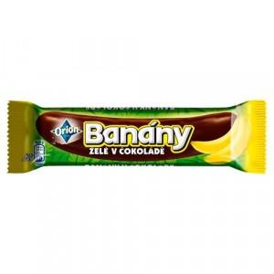 Banány v čokoláde Orion 45g 10