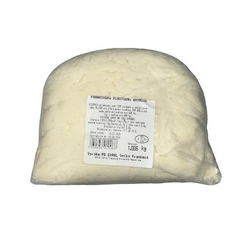 Bryndza Frankovská plnotučná cca 1 kg 1