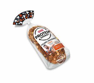 Chlebík proteínový tmavý krájaný balený PENAM 200g 10