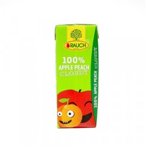Džús jablko broskyňa 100% RAUCH 0,2l 3
