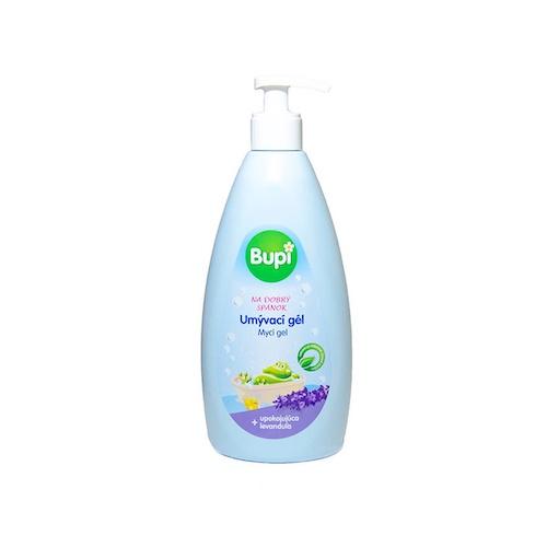 Detský umývací gél levanduľa BUPI 500ml 1