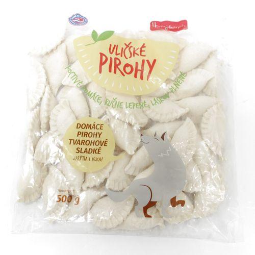 Domáce uličské pirohy tvarohové sladké 500g 1