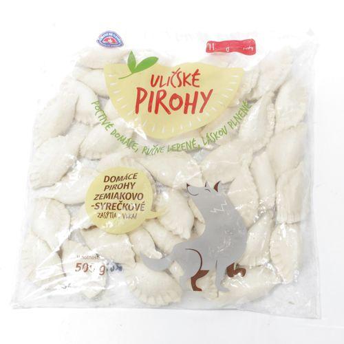 Domáce uličské pirohy zemiakovo syrečkové 500g 1