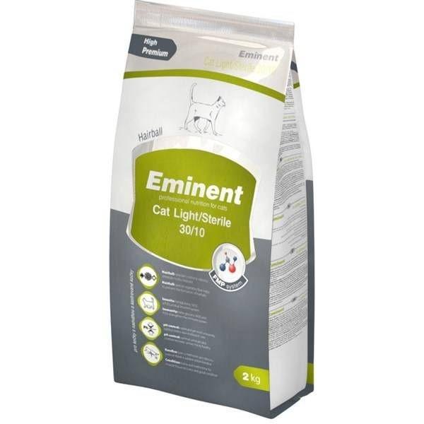 Eminent CAT sterile light Prémiové krmivo 2kg 1