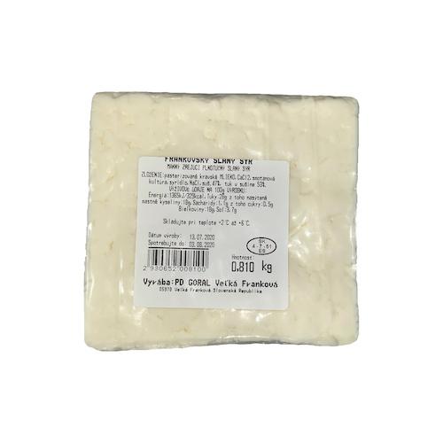 Syr Frankovský slaný cca 1kg 1