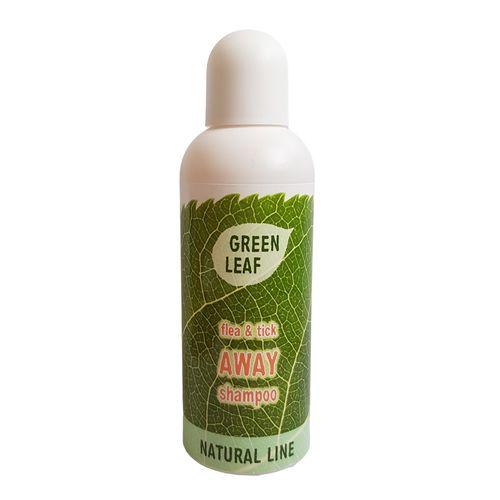 GREENLEAF Bio šampón proti blchám a kliešťom 250ml 1