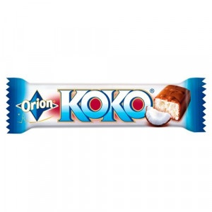 KOKO Kokosová tyčinka máčaná v čokoláde Orion 35g 19