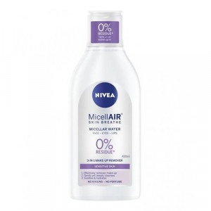 Nivea Sensitive Skin 3v1 Care micelárna voda 400ml 7