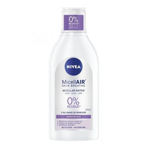 Nivea Sensitive Skin 3v1 Care micelárna voda 400ml 1