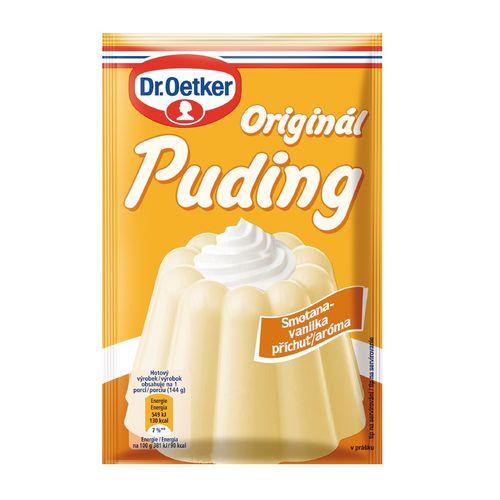 Originál puding smot./vanilka aróma 38g Dr. Oetker 1
