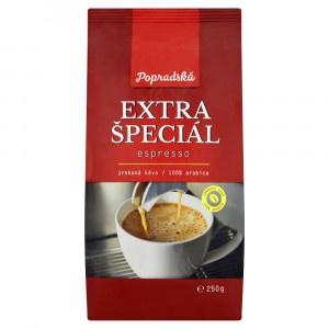 Popradská Extra špeciál espresso 250 g 5