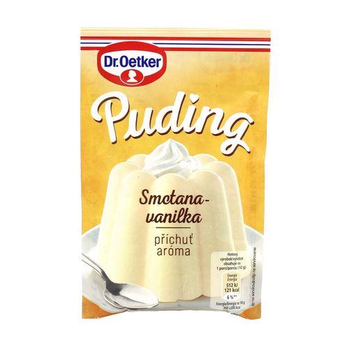 Puding aróma Smotana-vanilka 38g Dr. Oetker 1