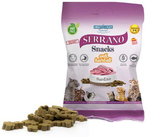 Serrano Pamlsky pre mačky sardinky 50g 1