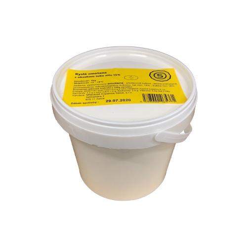 Smotana kyslá pochúťková 15% Selčianska 1kg 1