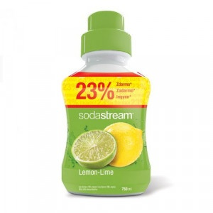 SodaStream Sirup Lemon-Lime 750 ml 5