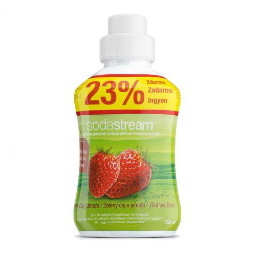 SodaStream Sirup Zelený čaj/jahoda 750 ml 1