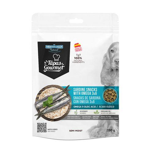 Tapas Gourmet pamlsky pre psov sardinky 190g 1