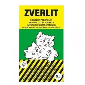ZVERLIT Prírodná podstielka bez vône pre mačky 6kg 2