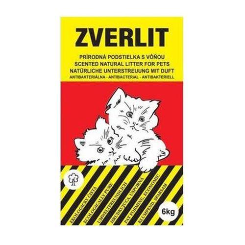 ZVERLIT Prírodná podstielka s vôňou pre mačky 6kg 1