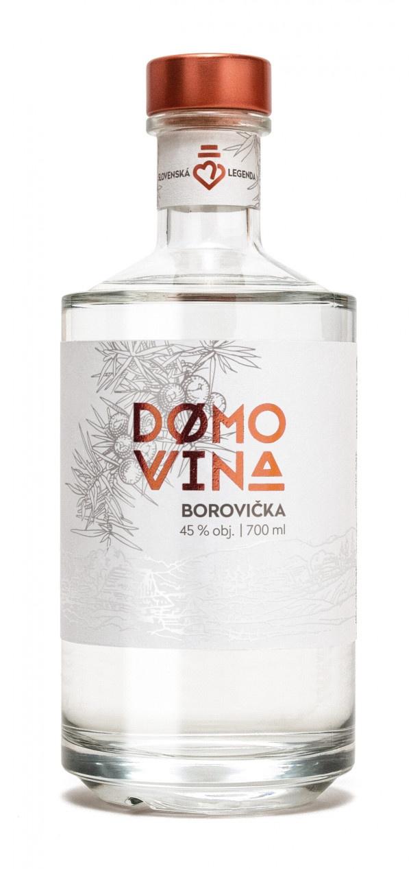 DOMOVINA Borovička 45% 0,7 l 1