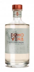 DOMOVINA Borovička s horcom 45% 0,7 l 2